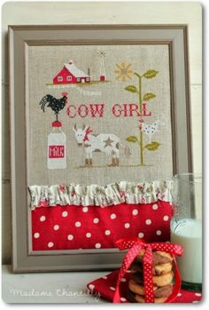 Cowgirl Inspired Cross Stitch Patterns: A Cow Girl Cross Stitch Books, Cross Stitch Charts, Cross Stitch Patterns, Cross Stitching, Cross Stitch Embroidery, Embroidery Patterns, Garden Embroidery, Cross Stitch Finishing, Embroidery For Beginners
