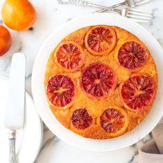 Blood Orange Olive Oil Upside-Down Cake  |  Baking The Goods