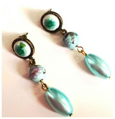 Turquoize Earrings by Laladiva.2013. http://complementoslaladiva.com/
