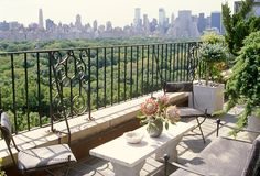Penthouse Views: An Uptown Patio