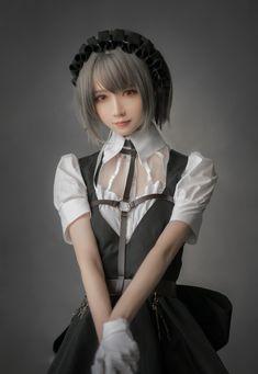 Kawaii Cosplay, Cosplay Anime, Cute Cosplay, Best Cosplay, Cosplay Girls, Maid Cosplay, Cute Asian Girls, Cute Girls, Cute Japanese Girl