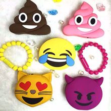 IMEANING Funny emoji power bank kiss tears cat poops face design Cartoon USB Bateria For Iphone 4S 5 5S 6 6S SE Xiaomi Sumsung