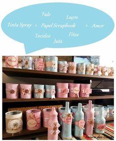 lata de leite decorada - Pesquisa Google