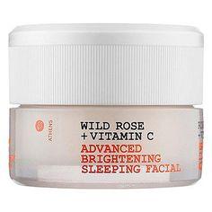Korres Wild Rose & Vitamin C Advanced Brightening Sleeping Facial