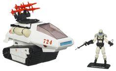 GI Joe Hiss Tank Toy | HISS-Tank-Arctic- G.I. Joe Modern Era Arctic H.I.S.S. Tank