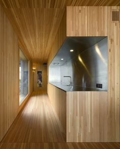 Concrete Cube Home With Surprising Wooden Interior - Wave Avenue