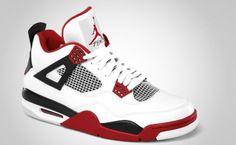 "Nike : Air Jordan 4 ""Fire Red"""