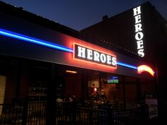 Heroes Sports Bar & Grill was voted number one sports bar in 2011 by Wichita Eagle readers. It is located right down the street from Hotel at Old Town and serves the finest burgers, the coldest beers and has the best games playing. They even have an outdoor patio with live entertainment!