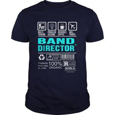BAND DIRECTOR T-Shirts, Hoodies. Check Price Now ==► https://www.sunfrog.com/LifeStyle/BAND-DIRECTOR-99905385-Navy-Blue-Guys.html?id=41382