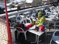 Godson and the boys learning to ski...