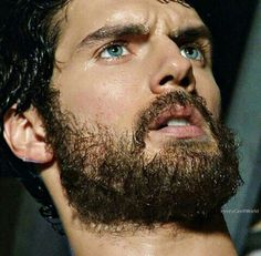 Man of Steel Henry Cavill Beard, Henry Cavill Eyes, Superman Cavill, Henry Superman, Most Beautiful Eyes, Gorgeous Men, Beautiful People, Gentleman, Charles Brandon