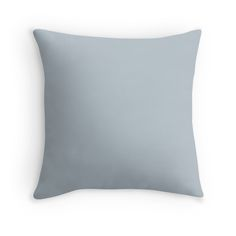 'Vintage New England Shaker Village Pastel Soldier Blue Milk Paint' Throw Pillow by oldshaker Trends 2018, Floor Pillows, Bed Pillows, Cushions, Pink Throws, Milk Paint, Color Of The Year, Pantone Color, Spring Colors