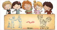 Family Guy, Teaching, Children, Anime, Fictional Characters, Art, Young Children, Art Background, Boys