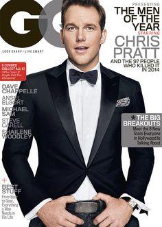 Chris Pratt on the cover of GQ