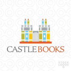 IDENTIDAD - OBJETO Diseño creativo del logotipo que combinan libros apilados en una estantería que construye un castillo, para la identidad de un club de lectura, que puede ser construido en un lugar central estratégico de barrios en los estratos 1, 2 y 3, en donde habita el público objetivo.