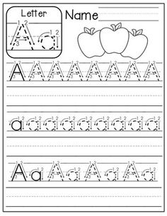 FREE A-Z handwriting worksheets! Just print, place in sleeve protectors and use with a dry erase marker! Alphabet Worksheets, Alphabet Activities, Preschool Worksheets, Preschool Learning, Preschool Activities, Alphabet Crafts, Alphabet Letters, Free Alphabet Printables, Spanish Alphabet