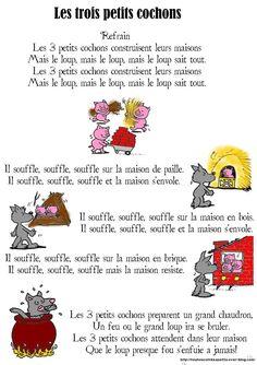 Petite Section, Teaching Aids, French Language, 3 D, Blog, Short Stories, Kids Songs, Kid Friendly Art, Nursery Rhymes Songs