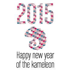 Happy new year of the kameleon. #Kameleonik #NewYear #HappyNewYear #2015 #Espadrilles #Alpargatas #BasqueCountry #Bilbao #Handmade #Artisan #EthicalFashion #Sustainable