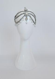 Pearl & Diamante Indian Head Piece | Rue de Seine