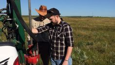 Jeremy Houser '16 worked alongside his classmate, Molly Bina '16, at the U.S. Department of Agriculture's Northern Great Plains Research Laboratory in Mandan, N.D., this summer.