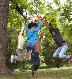 Orb-It  Spinning Ring in Outdoor Play Toys   $60 http://www.hearthsong.com/orb-it-andtrade;-spinning-ring.htm