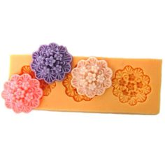 Aliexpress.com : Buy New 3D Mini 2.0cm Five Floral Leaf (F0043) Silicone Handmade Fondant Mold DIY Mold Cake Decorating from Reliable silicone fondant mold suppliers on CreativeLiveStore--Silicone Molds $5.08
