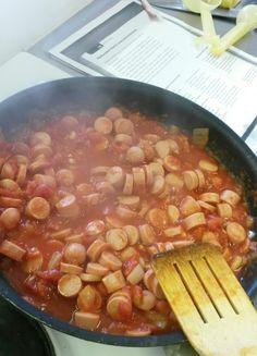 Vaihtoehto makkarakastikkeelle...kalkkuna nakit Beef, Food, Meat, Essen, Meals, Yemek, Eten, Steak