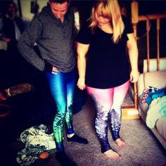 Enchanted leggings. #couple