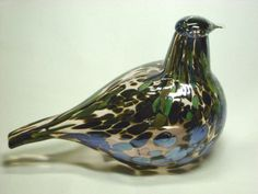 Oiva-Toikka-Reed-Warbler-Art-Glass-Bird-Finland-Iittala