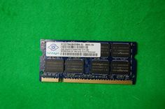 2GB Notebook RAM Nanya NT2GT64U8HD0BN-3C DDR2 667MHz 200p PC2-5300 CL5 SODIMM