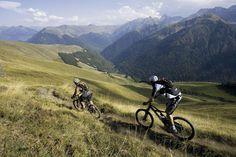 Mountain Biking in Luchon, Pyrenees