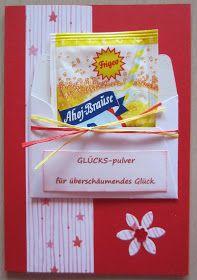 Diamantin´s Hobbywelt: Brausepulver-Karten