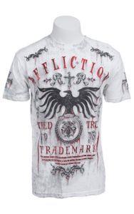 Affliction® Men's White Tried Crewneck Short Sleeve Tee | Cavender's