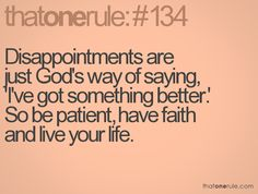 Live your life for Him while you wait.