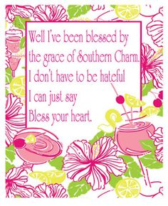Bless your heart....