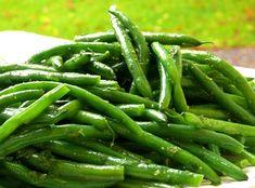 Orange-Mint Green Beans {recipe}