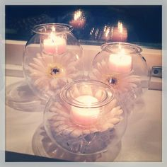 Clearly Creative Eclectic Votive Trio <3 Beautiful <3 Versatile <3 partylite.biz/briannahoward