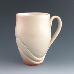 Mug Handmade Pottery Ceramic Unique Modern by jtceramics on Etsy