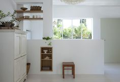 Small space inspiration: a light-filled home in rural Israel Last week a note dropped into my mail box with some kind words and a link to these lovely images - which as you can imagine, made my day! International homes Nordic Home, Home Studio, Other Rooms, Scandinavian Style, House Tours, Small Spaces, Beautiful Homes, Shelves, Bookcase