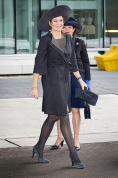 Queen Máxima, January 20, 2014 in Fabienne Delvigne | Royal Hats