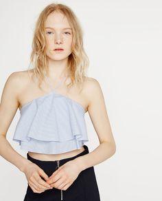 Imagem 2 de TOP FOLHOS da Zara