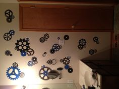 Gear and cog wall!