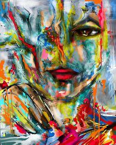 Magda Rivera, paintings