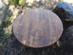 Antique Barnwood - Round Dining Table, 60 inches, 5-7 person | Mt Hood Wood Works