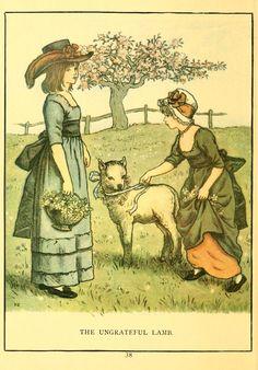 The Ungrateful Lamb - Marigold Garden, 1885