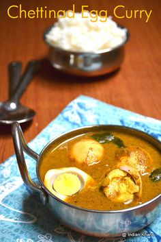 Chettinad Egg Curry | Chettinad Muttai Kuzhambu ~ Indian Khana