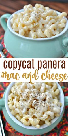 Copycat Panera White Cheddar Mac and Cheese recipe is perfect for an easy weeknight side dish! White Mac And Cheese, Cheddar Mac And Cheese, White Cheddar, Macaroni Cheese, Cooking Macaroni, Mac Cheese, Copycat Recipes, New Recipes, Cooking Recipes