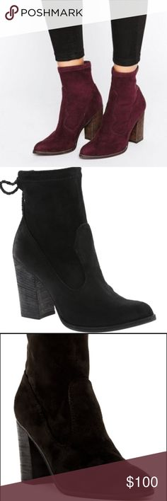 Dolce Vita Booties NWT these are so on trend!  They're like a sock bootie which is so cute!! Dolce Vita Shoes Ankle Boots & Booties