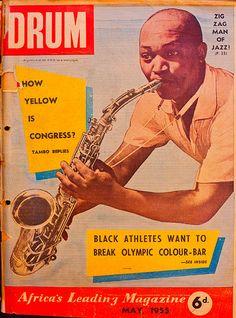 Drum Magazine - wallpaper for the bar