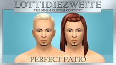 Male Hair Recolours in WKOS' Musical Colours• adds 5 new swatches to EA thumbnails  • included colours are Anchor, Soap, Hurricane, Gingerbread Man, and Love Song  • the swatches will show up after my Pony Recolours  • the Perfect Patio Stuff Pack is...